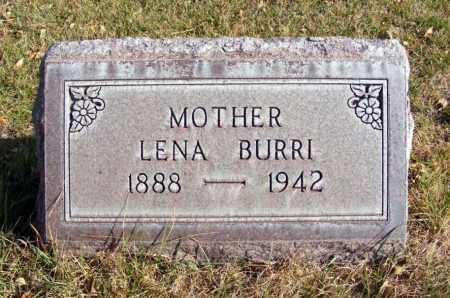 MARCHANT BURRI, LENA - Box Butte County, Nebraska | LENA MARCHANT BURRI - Nebraska Gravestone Photos