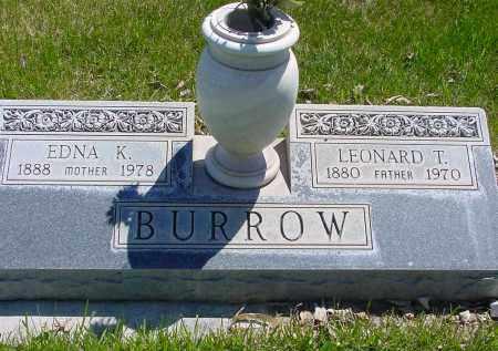 BURROW, EDNA K. - Box Butte County, Nebraska | EDNA K. BURROW - Nebraska Gravestone Photos