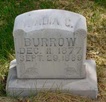 BURROW, SADIA C. - Box Butte County, Nebraska | SADIA C. BURROW - Nebraska Gravestone Photos