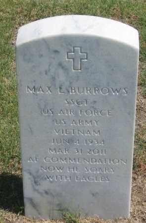 BURROWS, MAX  L. - Box Butte County, Nebraska | MAX  L. BURROWS - Nebraska Gravestone Photos