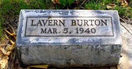 BURTON, LAVERN - Box Butte County, Nebraska | LAVERN BURTON - Nebraska Gravestone Photos