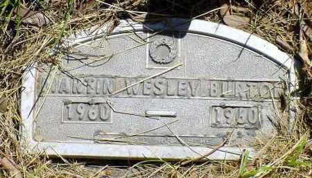 BURTON, MARTIN WESLEY - Box Butte County, Nebraska   MARTIN WESLEY BURTON - Nebraska Gravestone Photos