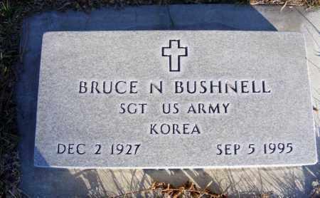 BUSHNELL, BRUCE N. - Box Butte County, Nebraska | BRUCE N. BUSHNELL - Nebraska Gravestone Photos