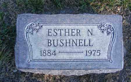NEELAND BUSHNELL, ESTHER N. - Box Butte County, Nebraska | ESTHER N. NEELAND BUSHNELL - Nebraska Gravestone Photos