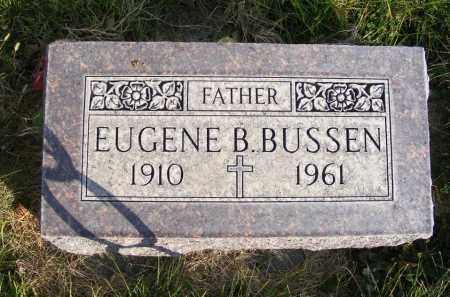 BUSSEN, EUGENE B. - Box Butte County, Nebraska | EUGENE B. BUSSEN - Nebraska Gravestone Photos