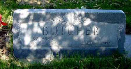 BUTCHER, KATHRYN - Box Butte County, Nebraska   KATHRYN BUTCHER - Nebraska Gravestone Photos