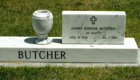 BUTCHER, JAMES EUGENE - Box Butte County, Nebraska | JAMES EUGENE BUTCHER - Nebraska Gravestone Photos