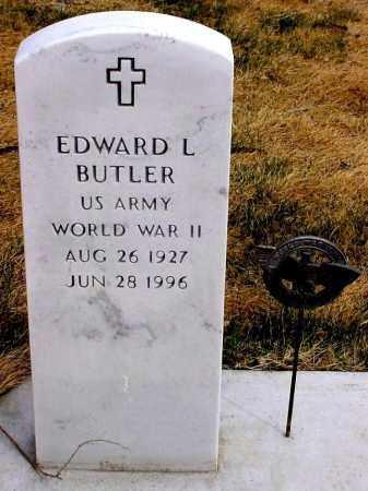 BUTLER, EDWARD L. - Box Butte County, Nebraska | EDWARD L. BUTLER - Nebraska Gravestone Photos