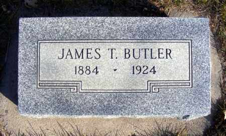 BUTLER, JAMES T. - Box Butte County, Nebraska | JAMES T. BUTLER - Nebraska Gravestone Photos