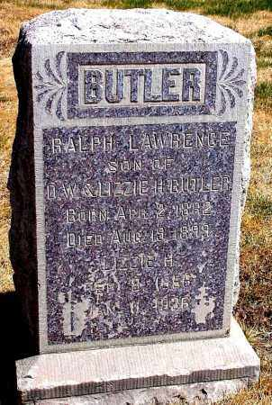 BUTLER, RALPH LAWRENCE - Box Butte County, Nebraska | RALPH LAWRENCE BUTLER - Nebraska Gravestone Photos