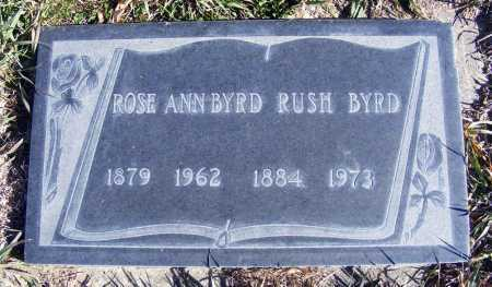 BYRD, ROSE ANN - Box Butte County, Nebraska | ROSE ANN BYRD - Nebraska Gravestone Photos