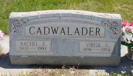 CADWALADER, RACHEL E. - Box Butte County, Nebraska | RACHEL E. CADWALADER - Nebraska Gravestone Photos