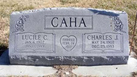 CAHA, CHARLES J. - Box Butte County, Nebraska | CHARLES J. CAHA - Nebraska Gravestone Photos