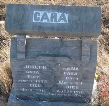 CAHA, ANNA - Box Butte County, Nebraska | ANNA CAHA - Nebraska Gravestone Photos