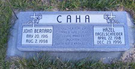 CAHA, HAZEL - Box Butte County, Nebraska   HAZEL CAHA - Nebraska Gravestone Photos