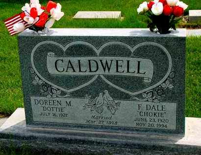 "CALDWELL, DOREEN M. ""DOTTIE"" - Box Butte County, Nebraska 