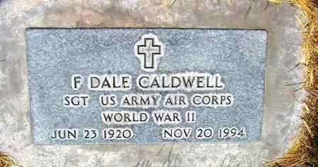 CALDWELL, F. DALE - Box Butte County, Nebraska | F. DALE CALDWELL - Nebraska Gravestone Photos