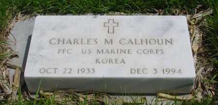 CALHOUN, CHARLES M. - Box Butte County, Nebraska | CHARLES M. CALHOUN - Nebraska Gravestone Photos