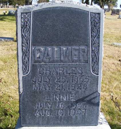 COLLINS CALMER, LINNIE - Box Butte County, Nebraska | LINNIE COLLINS CALMER - Nebraska Gravestone Photos