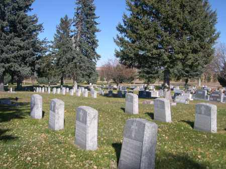 *CALVARY CEMETERY, VIEW OF - Box Butte County, Nebraska | VIEW OF *CALVARY CEMETERY - Nebraska Gravestone Photos