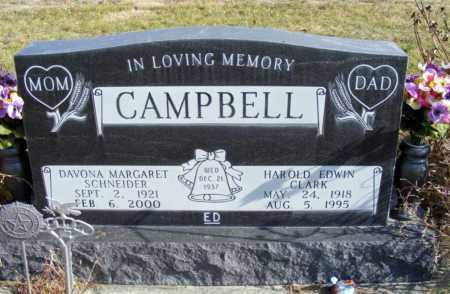 CAMPBELL, DAVONA MARGARET - Box Butte County, Nebraska | DAVONA MARGARET CAMPBELL - Nebraska Gravestone Photos