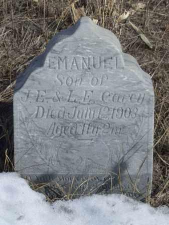 CAREY, EMANUEL - Box Butte County, Nebraska   EMANUEL CAREY - Nebraska Gravestone Photos