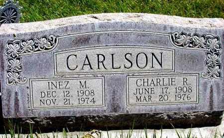 CARLSON, CHARLIE R. - Box Butte County, Nebraska | CHARLIE R. CARLSON - Nebraska Gravestone Photos