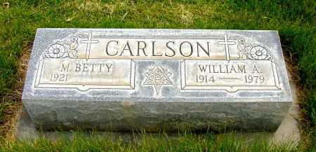 CARLSON, M. BETTY - Box Butte County, Nebraska   M. BETTY CARLSON - Nebraska Gravestone Photos