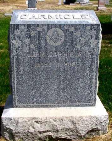 CARMICLE, JOHN - Box Butte County, Nebraska | JOHN CARMICLE - Nebraska Gravestone Photos