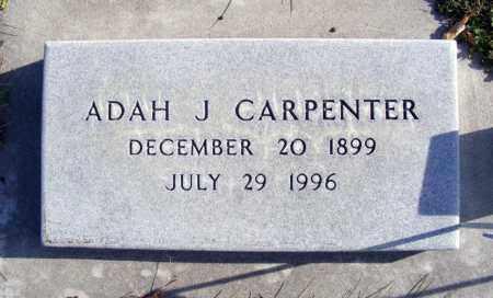 HAWORTH CARPENTER, ADAH J. - Box Butte County, Nebraska | ADAH J. HAWORTH CARPENTER - Nebraska Gravestone Photos