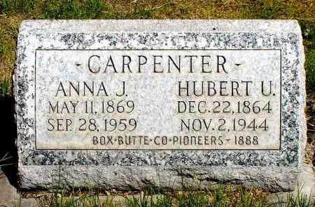 CARPENTER, ANNA J. - Box Butte County, Nebraska | ANNA J. CARPENTER - Nebraska Gravestone Photos