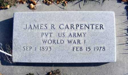 CARPENTER, JAMES R. - Box Butte County, Nebraska   JAMES R. CARPENTER - Nebraska Gravestone Photos