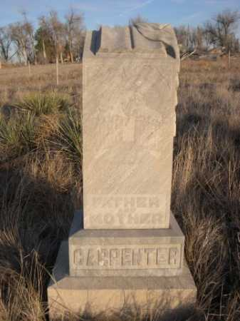 CARPENTER, MOTHER & FATHER - Box Butte County, Nebraska | MOTHER & FATHER CARPENTER - Nebraska Gravestone Photos