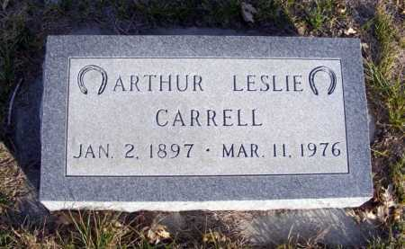 CARRELL, ARTHUR LESLIE - Box Butte County, Nebraska | ARTHUR LESLIE CARRELL - Nebraska Gravestone Photos
