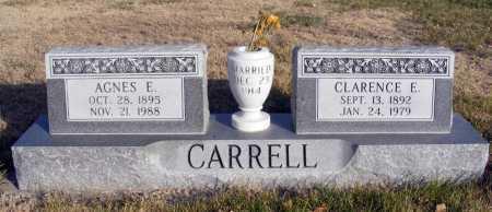 CARRELL, AGNES E. - Box Butte County, Nebraska | AGNES E. CARRELL - Nebraska Gravestone Photos
