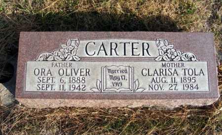 CARTER, ORA OLIVER - Box Butte County, Nebraska | ORA OLIVER CARTER - Nebraska Gravestone Photos