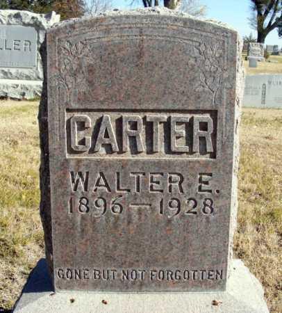 CARTER, WALTER E. - Box Butte County, Nebraska | WALTER E. CARTER - Nebraska Gravestone Photos