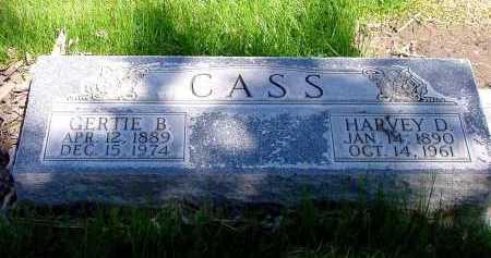 CASS, HARVEY D. - Box Butte County, Nebraska | HARVEY D. CASS - Nebraska Gravestone Photos
