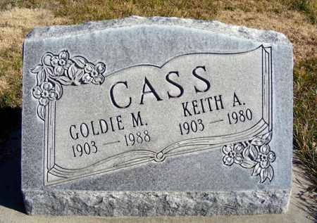 CASS, GOLDIE M. - Box Butte County, Nebraska | GOLDIE M. CASS - Nebraska Gravestone Photos