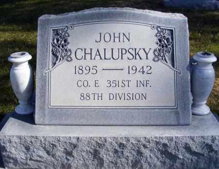CHALUPSKY, JOHN - Box Butte County, Nebraska | JOHN CHALUPSKY - Nebraska Gravestone Photos