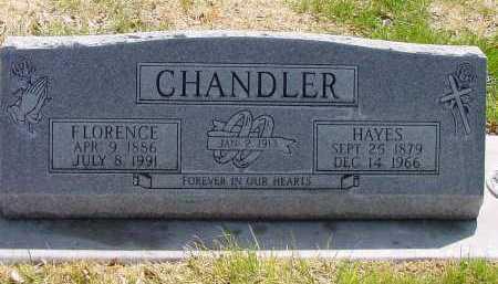 CHANDLER, HAYES - Box Butte County, Nebraska | HAYES CHANDLER - Nebraska Gravestone Photos