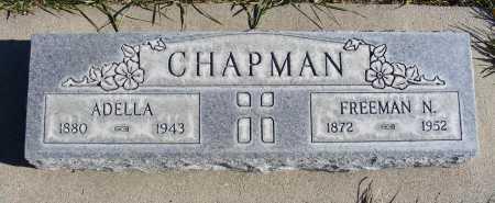 CHAPMAN, ADELLA - Box Butte County, Nebraska | ADELLA CHAPMAN - Nebraska Gravestone Photos