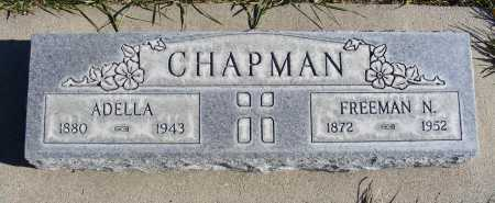 CHAPMAN, FREEMAN N. - Box Butte County, Nebraska | FREEMAN N. CHAPMAN - Nebraska Gravestone Photos