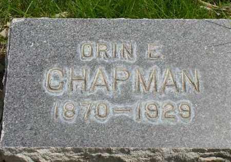 CHAPMAN, ORIN E. - Box Butte County, Nebraska | ORIN E. CHAPMAN - Nebraska Gravestone Photos