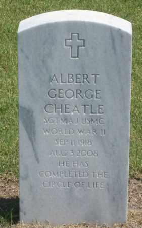 CHEATLE, ALBERT  GEORGE - Box Butte County, Nebraska | ALBERT  GEORGE CHEATLE - Nebraska Gravestone Photos