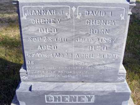 CHENEY, HANNAH J. - Box Butte County, Nebraska | HANNAH J. CHENEY - Nebraska Gravestone Photos
