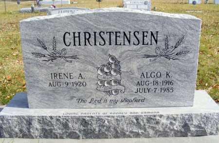 CHRISTENSEN, ALGO K. - Box Butte County, Nebraska | ALGO K. CHRISTENSEN - Nebraska Gravestone Photos