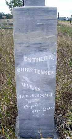 CHRISTENSEN, ESTHER N. - Box Butte County, Nebraska | ESTHER N. CHRISTENSEN - Nebraska Gravestone Photos