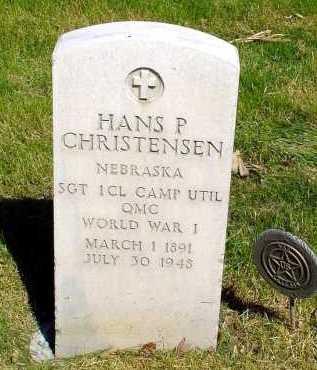 CHRISTENSEN, HANS P. - Box Butte County, Nebraska | HANS P. CHRISTENSEN - Nebraska Gravestone Photos