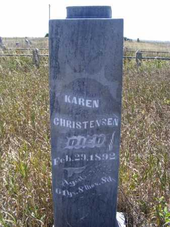 CHRISTENSEN, KAREN - Box Butte County, Nebraska | KAREN CHRISTENSEN - Nebraska Gravestone Photos